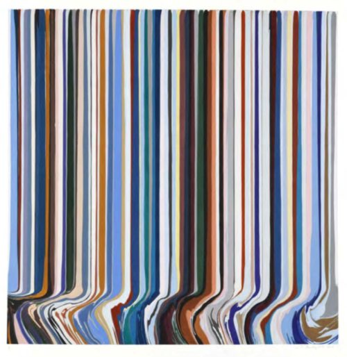"Ian Davenport, ""The Four Seasons, Winter"""