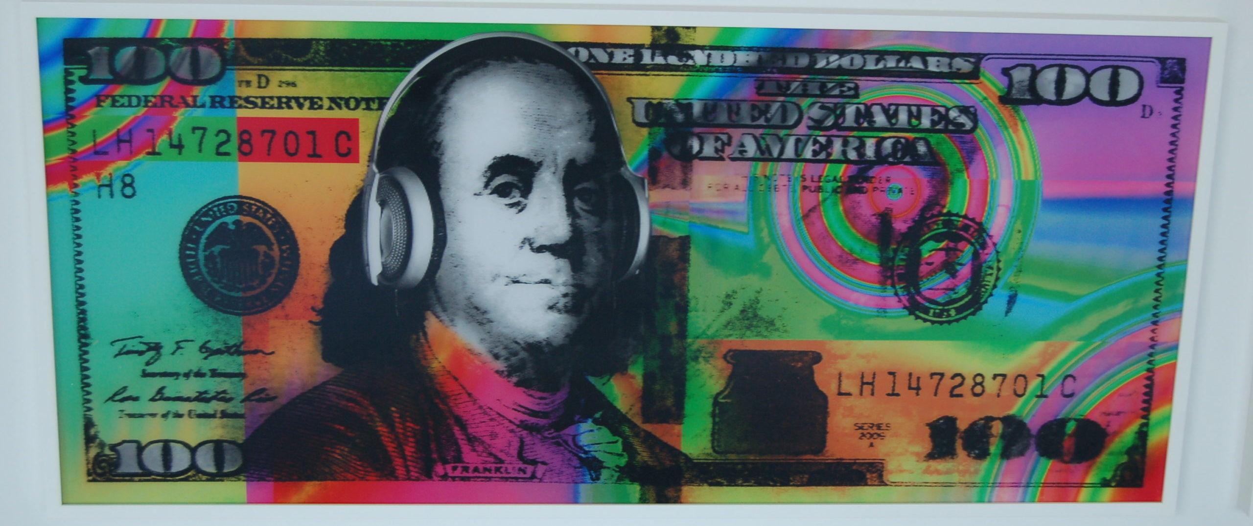 "Bruce Reinfeld, ""Ben Jammin' Franklin $100"""