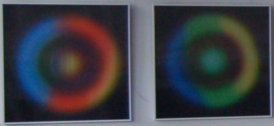 Black Circle Squares Framed