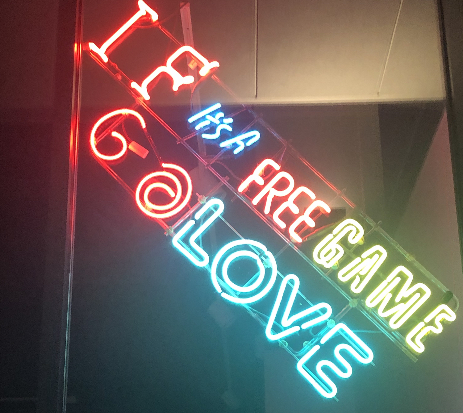 "Jeffry Chiplis, ""If It's A Free Game Go Love"""
