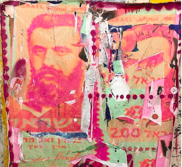 """Andrew Cotton, """"Pink Zion 5780"""""""