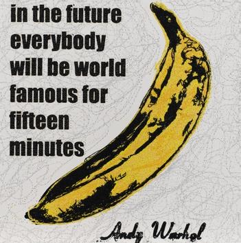 """Stephen Wilson, """"15 Minutes, Velvet Underground"""""""