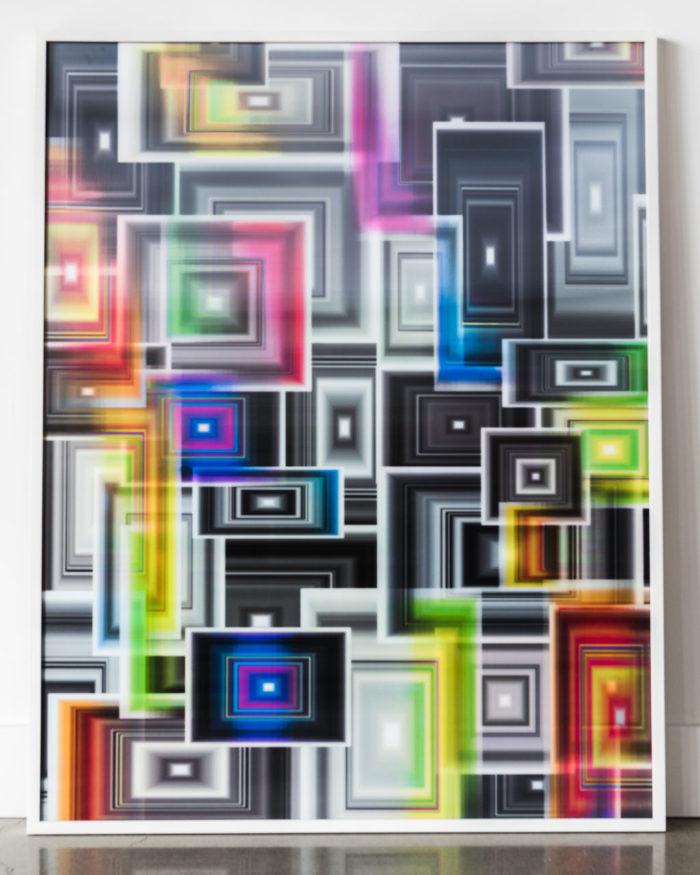 "Bruce Reinfeld, ""Square Cloud Series"""