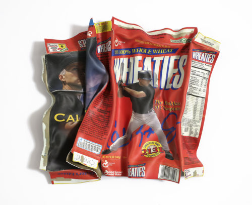 Wheaties with Cal Smashed | 24x24x5