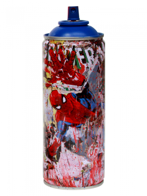 "Mr. Brainwash, ""Spider-Man"" Metal Spray Can"